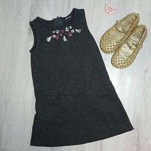 ❗SALE 3for10❗CARTER'S Jeweled & tassle dress 3T